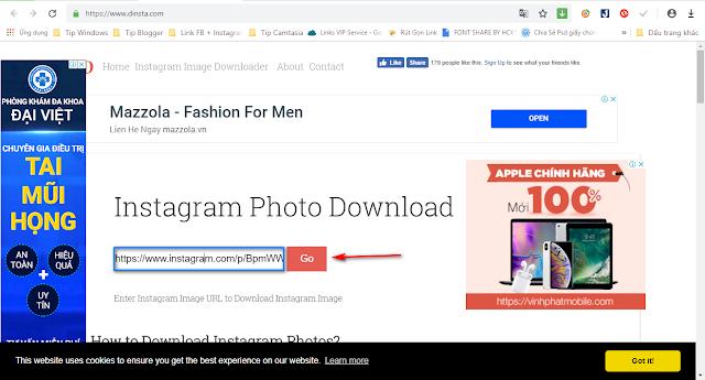 Hướng dẫn tải ảnh từ Instagram cho máy tính nhanh nhất