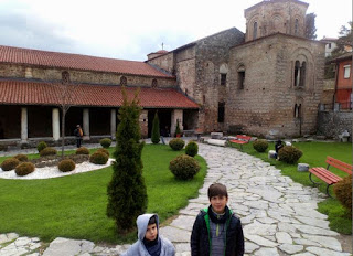 Sveta Sofia o Iglesia de Santa Sofía, Ohrid.