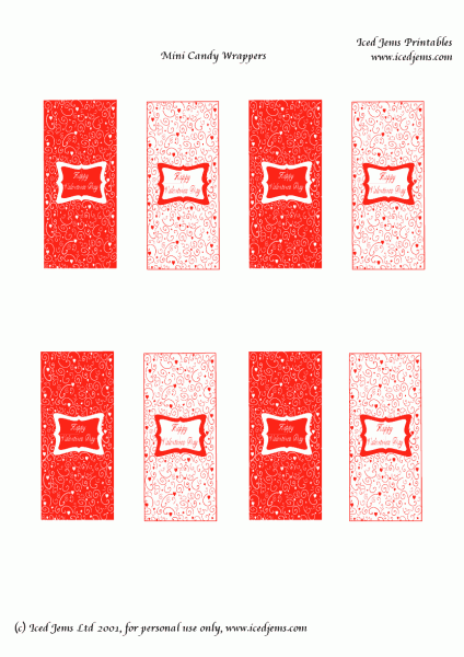 free mini candy bar wrapper template - etiquetas para imprimir de chocolate imagui