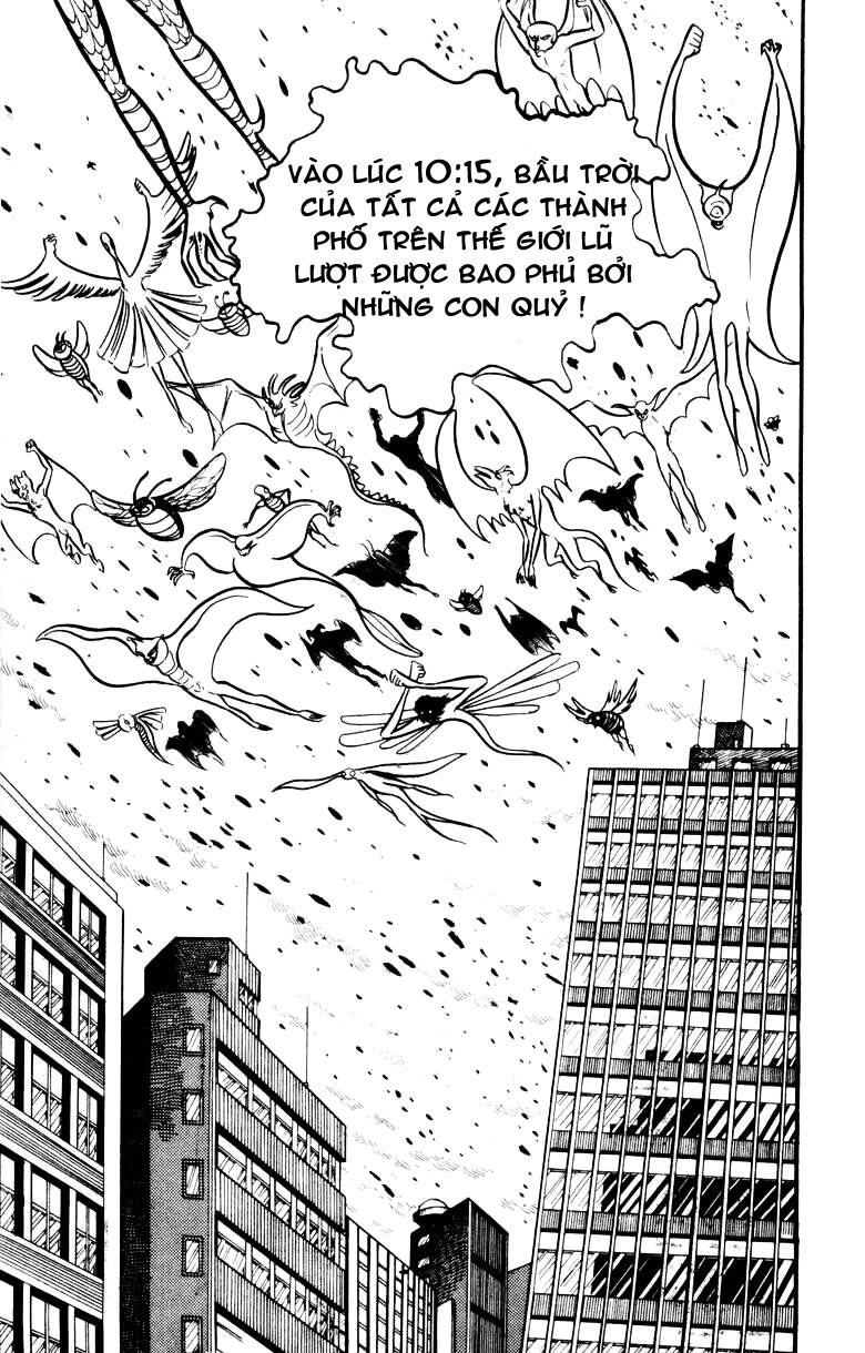 DevilMan chapter 17 trang 8