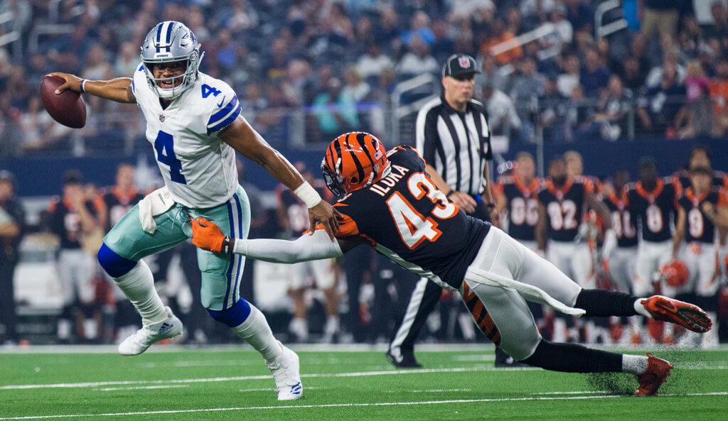 Cowboys Suffer Injuries, Loss To Bengals