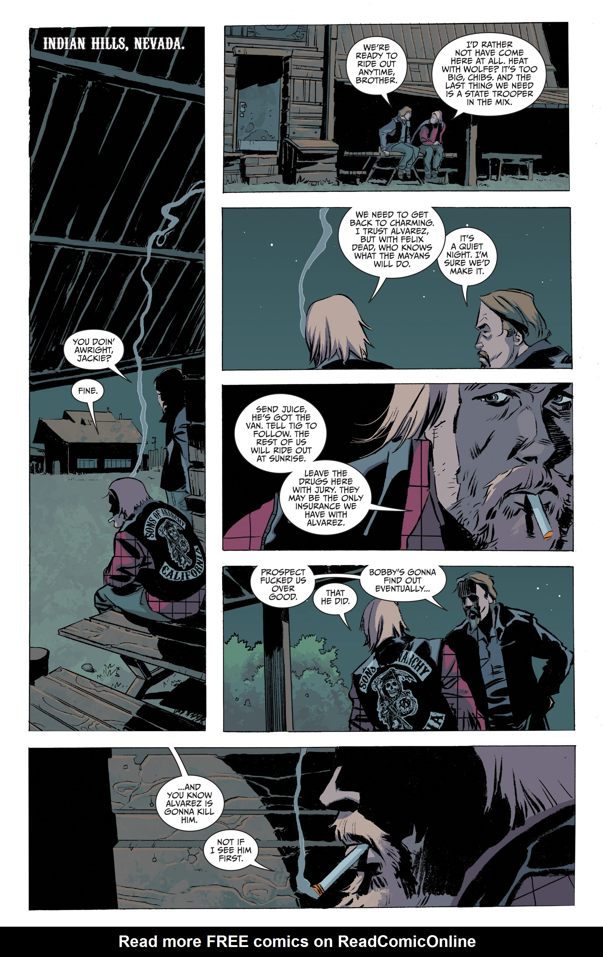 Read online Sons of Anarchy comic -  Issue #20 - 22