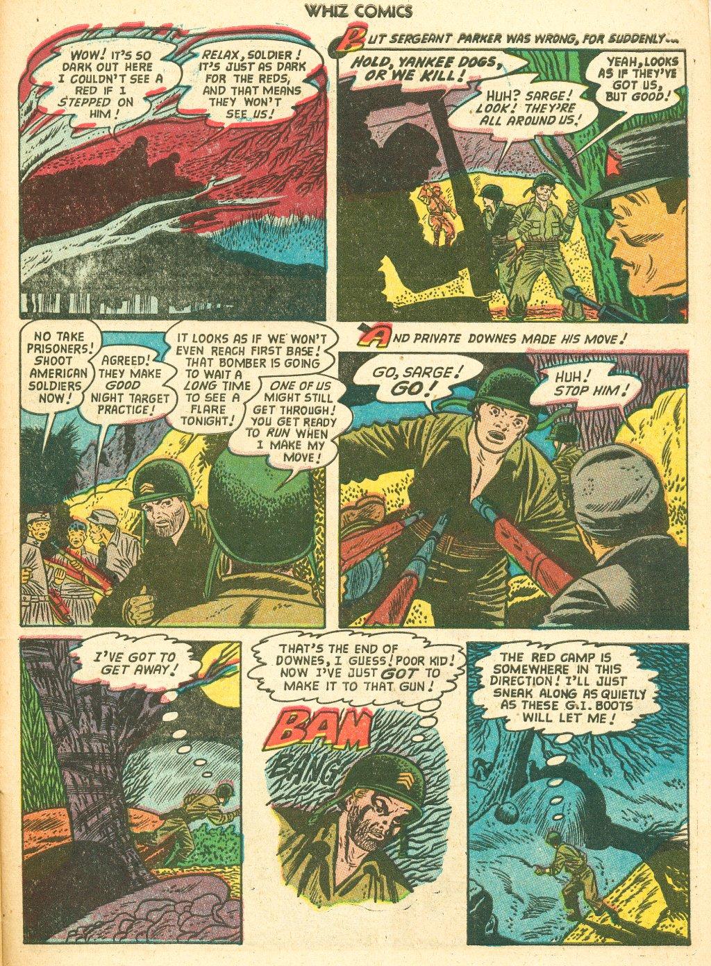 WHIZ Comics #155 #156 - English 31
