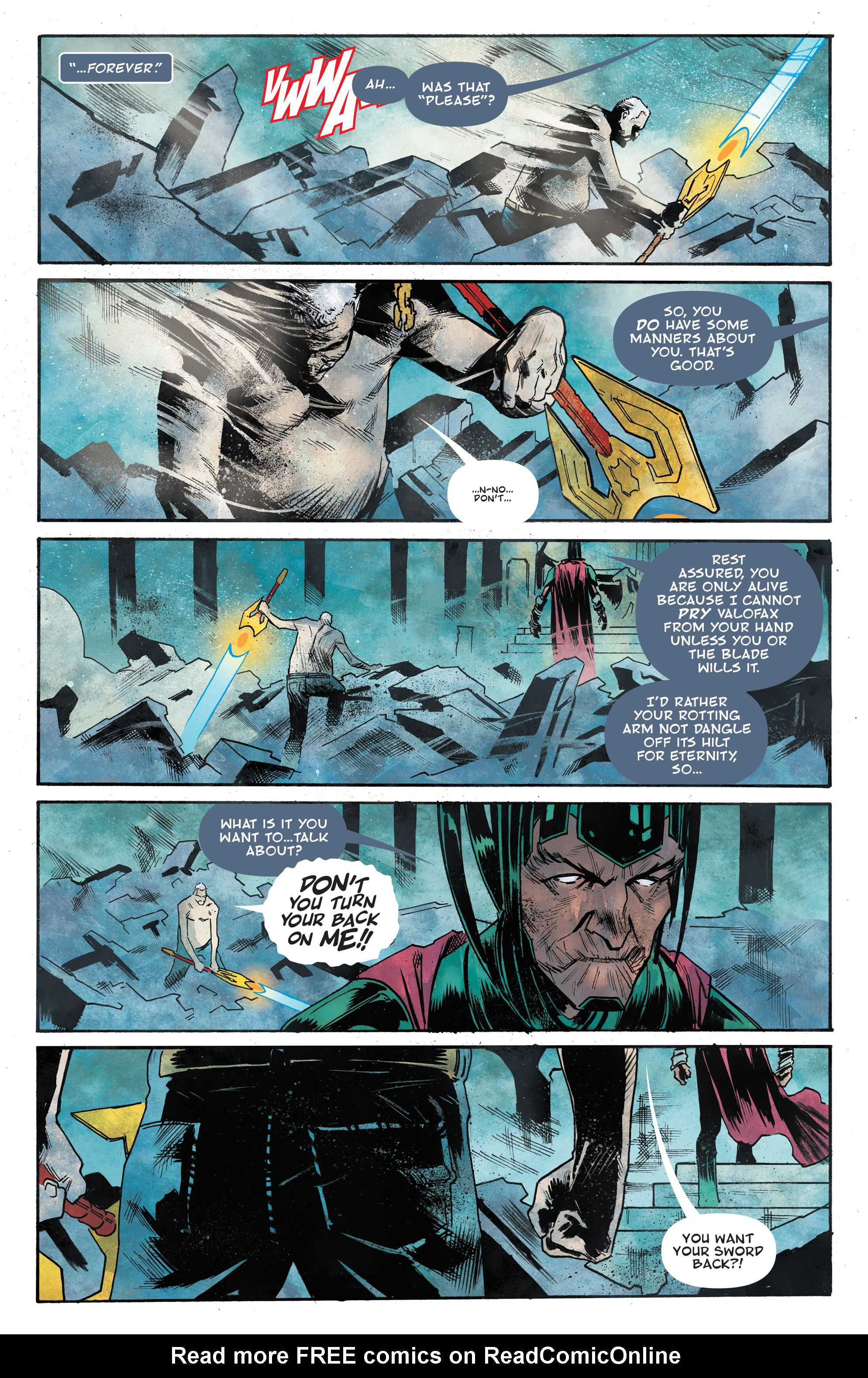 Read online God Country comic -  Issue #6 - 10