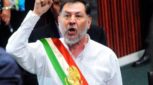"""""""Que NO nos tiemble la mano para encarcelar a Peña Nieto, Fox y Calderon"""". Gerardo Fernández Noroña"""