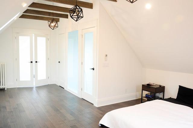 Project Rad: Toronto century home renovation - modern attic loft conversion Master Bedroom |navkbrar.blogspot.com