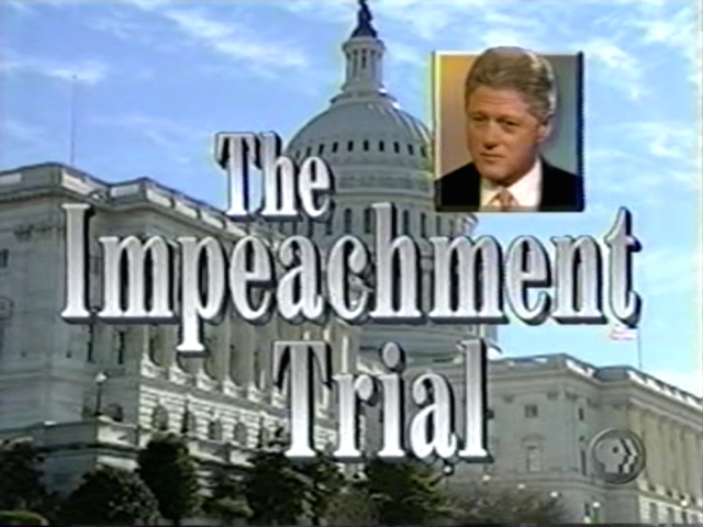 the sex scandal and the impeachment trial of president bill clinton Us television networks have scrapped two planned series about former president bill clinton's affair with monica lewinsky and his 1998 impeachment history channel said on wednesday it had.