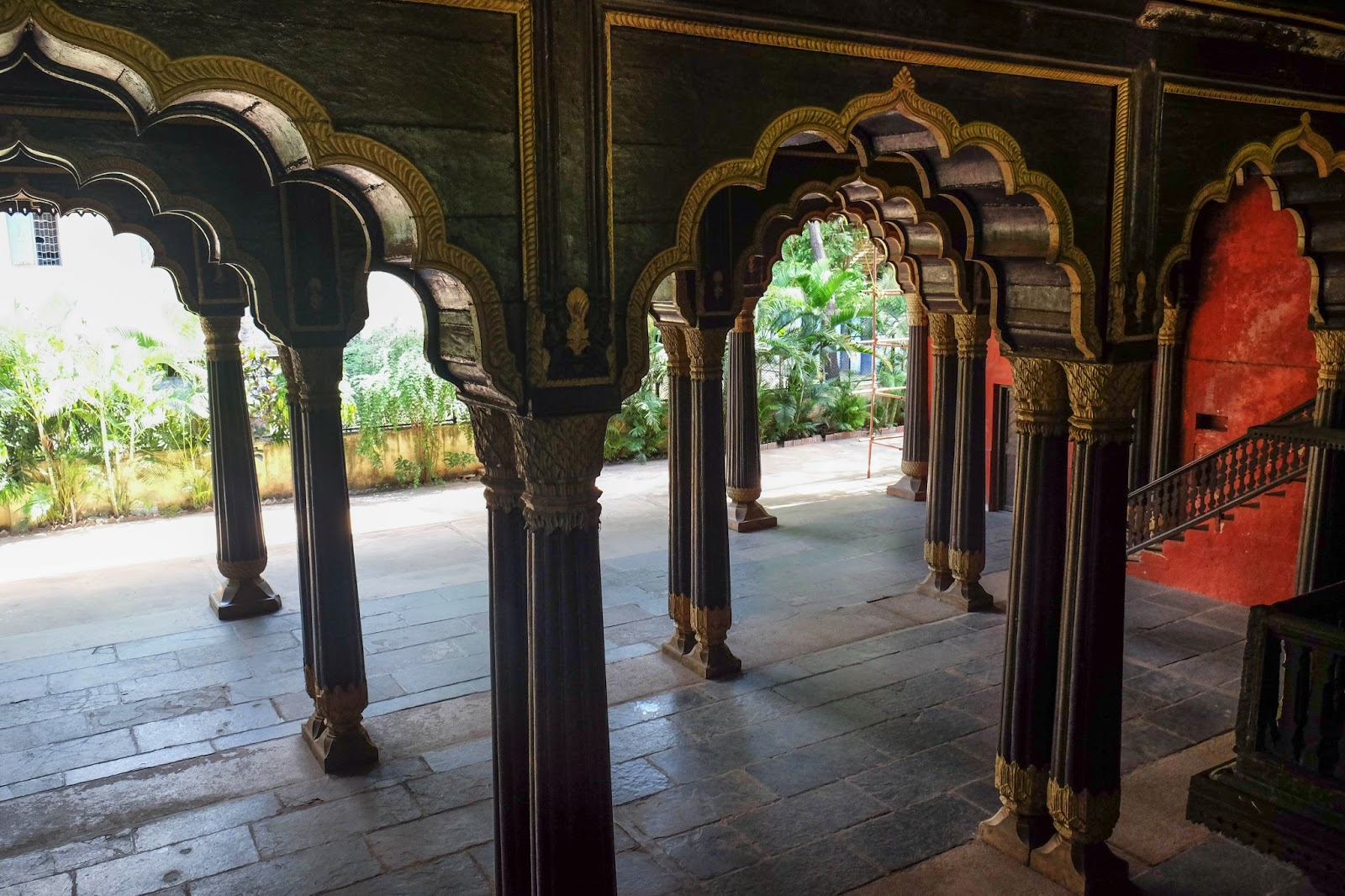 Tipu Sultan Summer Palace Bangalore