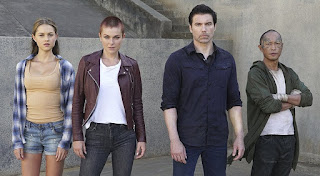 Ken Leung, Anson Mount, Serinda Swan, and Isabelle Cornish in Inhumans