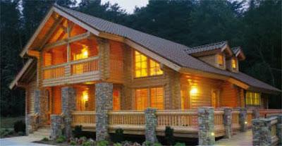 wood style house 07