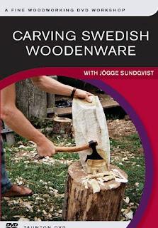 Carving Swedish Woodenware
