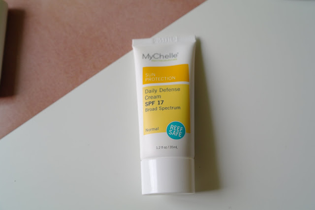 mychelle daily defense cream spf 17 review murale beautyboutique