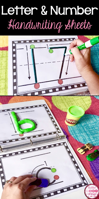 letters and number handwriting sheets | Write Letters and Numbers