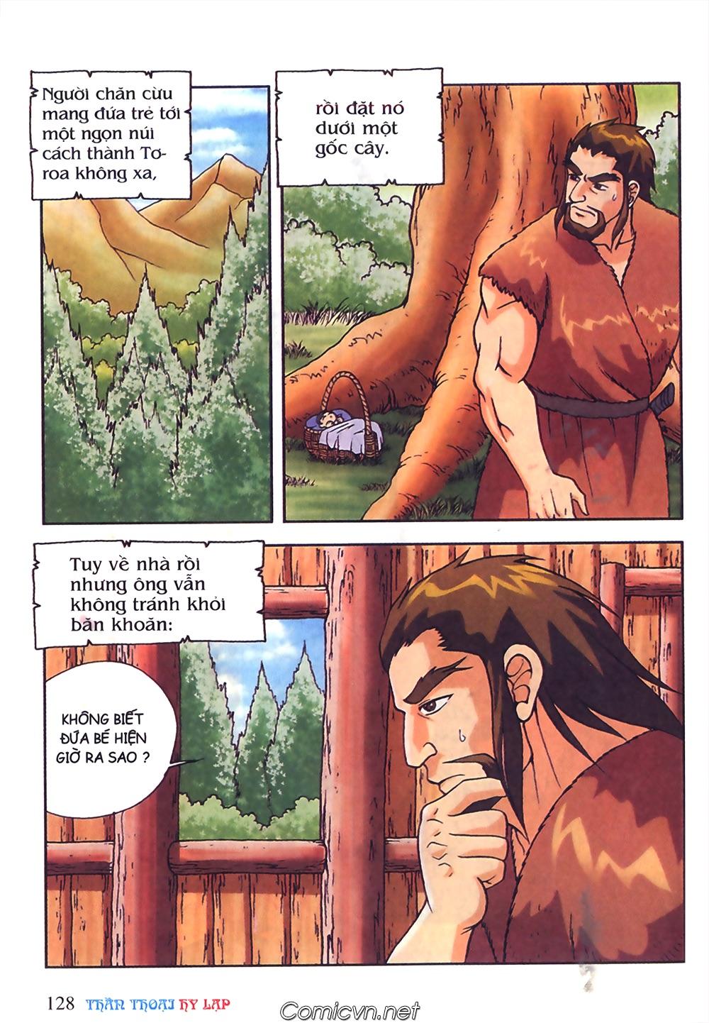 Thần Thoại Hy Lạp Màu - Chapter 50: Hoàng tử Pa rít - Pic 5