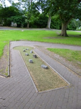 Crazy Golf at Callendar Park in Falkirk, Scotland