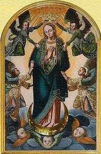 Obraz Matki Bożej Pocieszenia bęczkowice