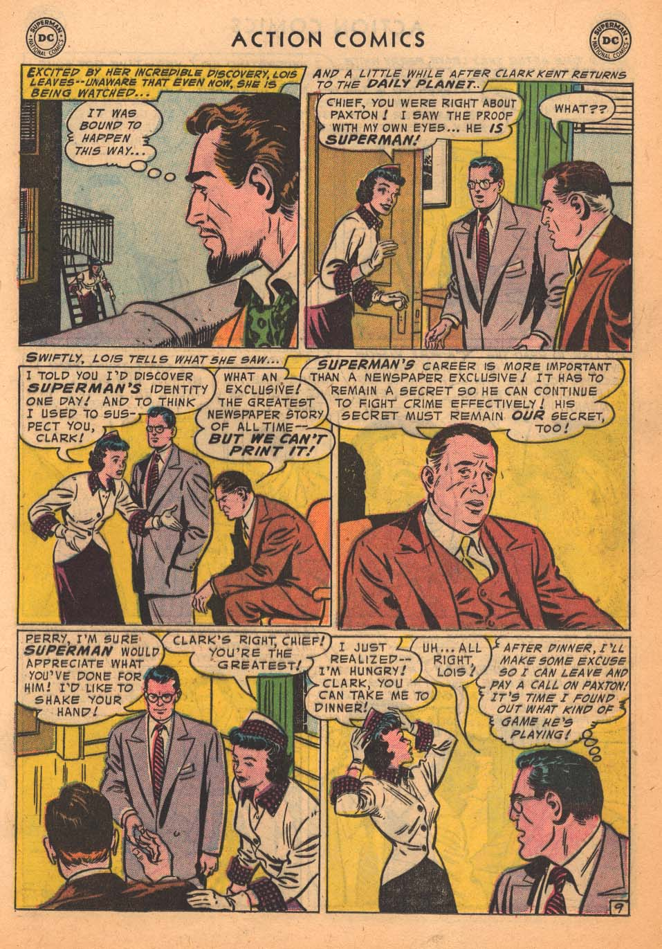 Action Comics (1938) 213 Page 10
