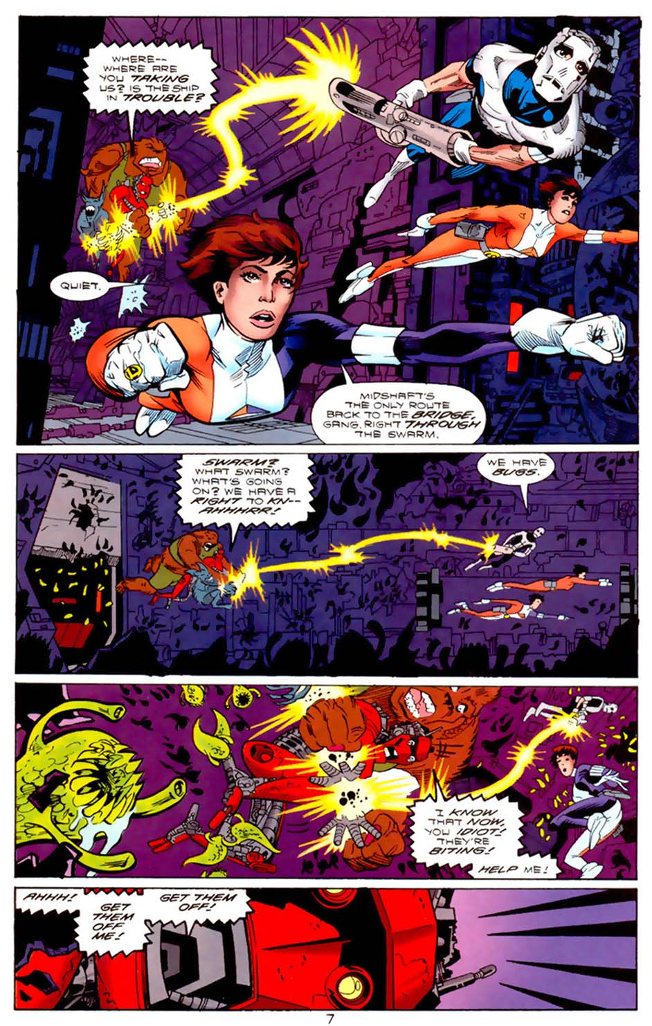 Legion of Super-Heroes (1989) 112 Page 7
