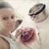 Chilling Photos of Woman Preparing to eat her Baby placenta (Photos)