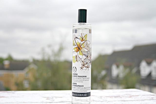 Jasmine & White Frangipani Body, Room & Linen Spritz