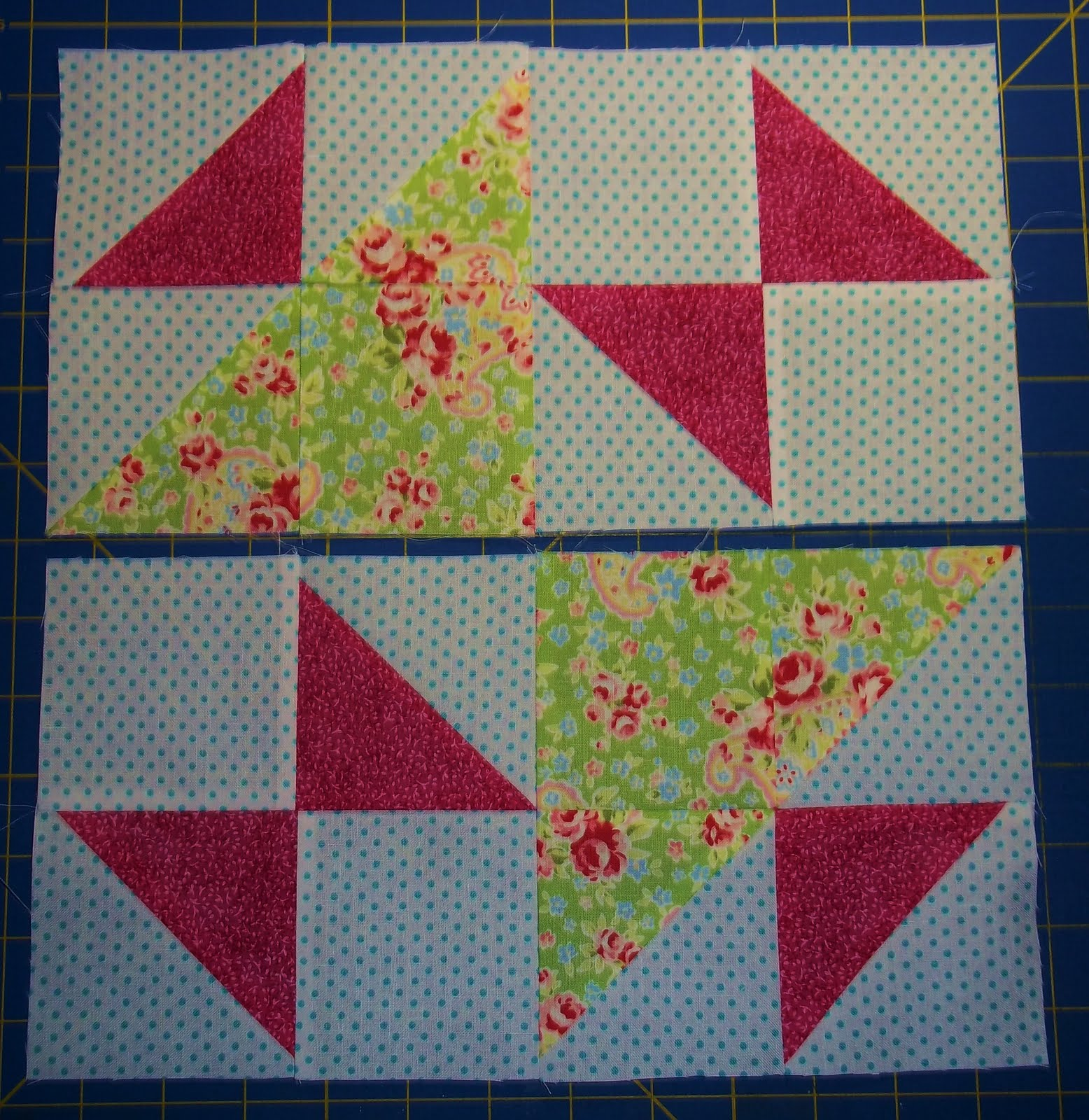 Chock A Block Quilt Blocks Old Maid S Puzzle