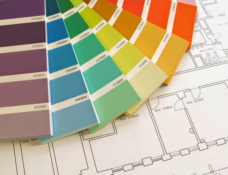 7. Τοιχοκολλήστε τα! Όχι δεν εννοώ την ξεχασμένη αφίσα του Σάκη... Κολλήστε  με ένα σελοτειπ τα δείγματα των χρωμάτων που έχετε επιλέξει 4f1c6743ab7