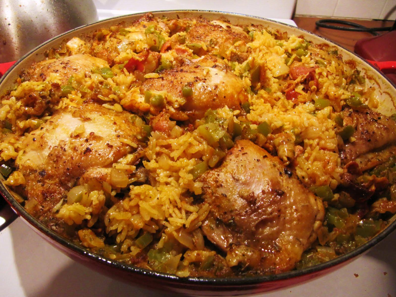 Mama Ozzy's Table: Arroz con Pollo (Cuban Chicken with Rice)