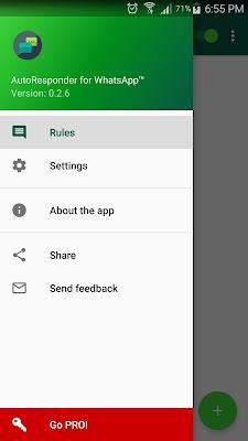 تطبيق AutoResponder for WhatsApp للأندرويد, تطبيق AutoResponder for WhatsApp مدفوع للأندرويد, تشغيل الرد الالي للواتس اب للرد على الرسائل بدون تدخل منك, حصريا طريقة الرد الالي على رسائل الواتساب, اضف ميزة الرد الآلي على رسائل الواتس اب