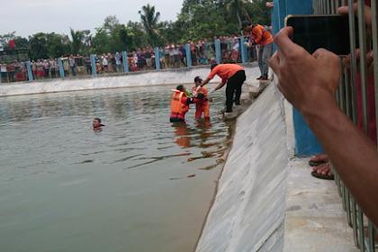 Seorang Bocah Tewas Tenggelam di Embung Patemon