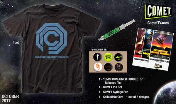 GIVEAWAY: COMET TV October prize pack {Robocop + more!}