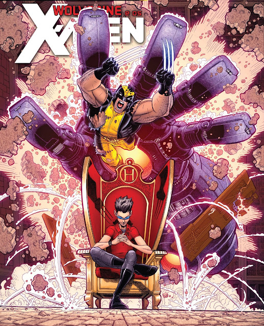 Wolverine e os X-Men por Jason Aaron Volume 7
