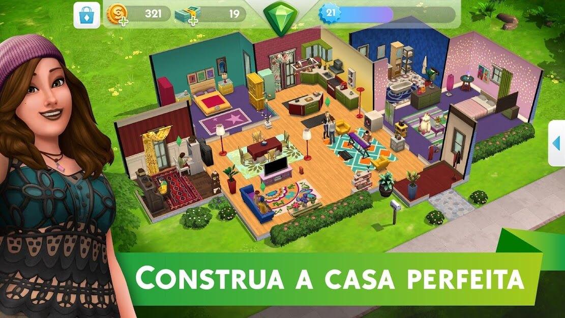 The Sims Mobile APK MOD Dinheiro Infinito 2021 v 28.0.1.122384