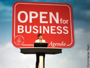 Open for Business - Source: U.S. Embassy IIP Digital - http://iipdigital.usembassy.gov/st/english/article/2015/01/20150108312751.html