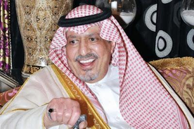 الديوان الملكى السعودى يعلن وفاة الأمير عبدالعزيز بن بندر