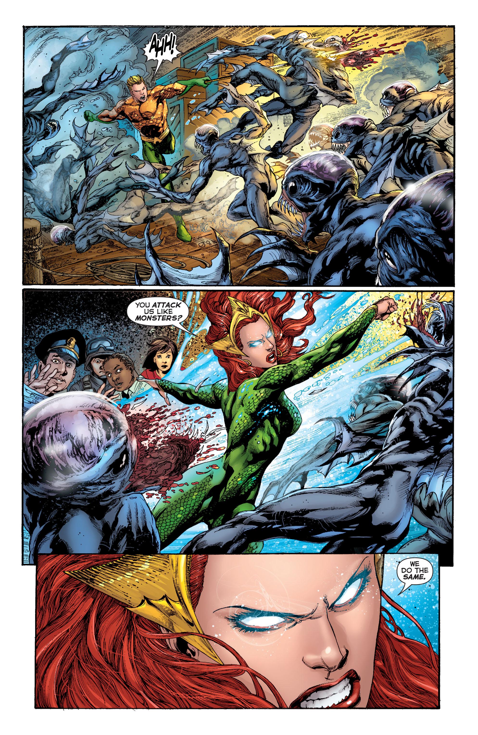 Read online Aquaman (2011) comic -  Issue #2 - 17