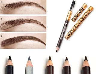 Cara Memakai Alis Mata Untuk Pemula Pakai Pensil Alis Coklat Dan Hitam