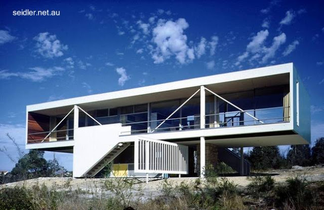 Casa estilo Moderno en Australia 1949 - 50