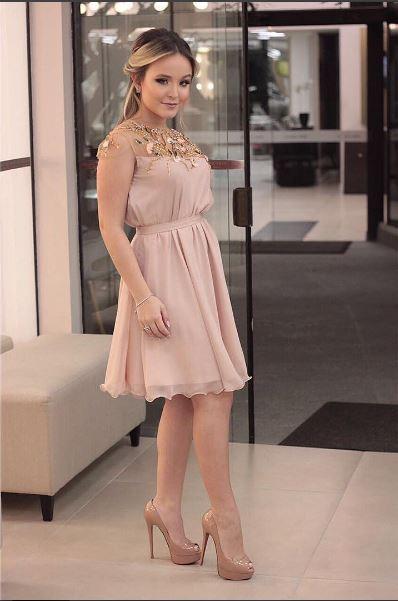 Larissa Manoela vestido festa da Concon