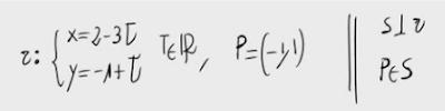 45. Recta perpendicular a una dada pasando por un punto 5
