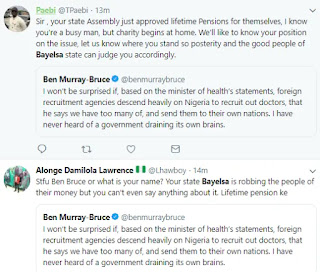 Nigerians react as Bayelsa state House of Assembly approves N500,000 life pension bill for past and present lawmakers