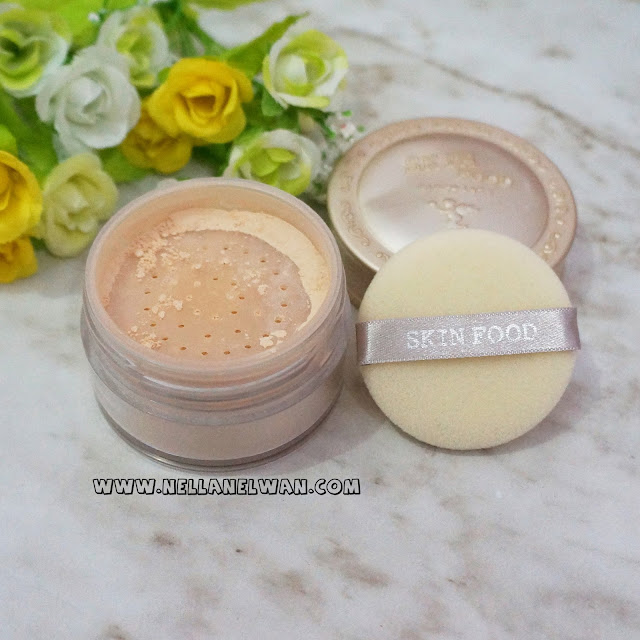 the skinfood buckwheat loose powder review nellanelwan