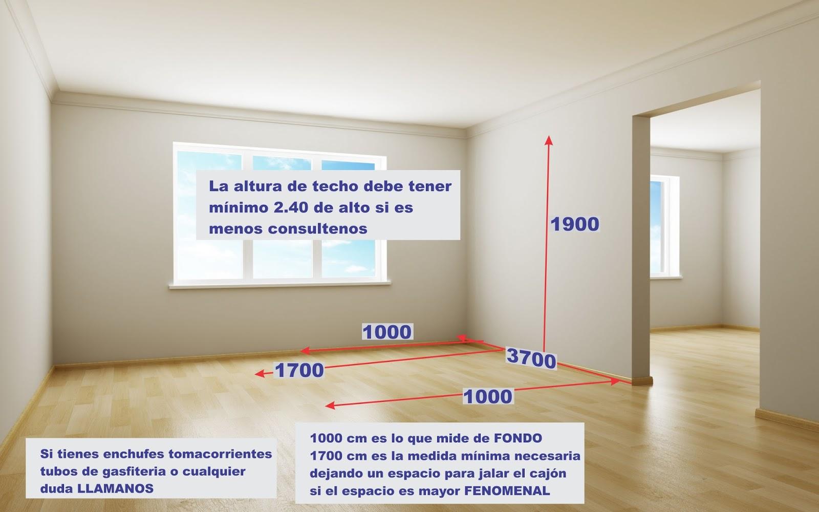 Dise os fabricacion de closet cocina y muebles de oficina for Hacer plano habitacion