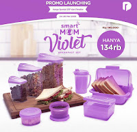 Dusdusan Smart Mom Violet Breakfast Set ANDHIMIND