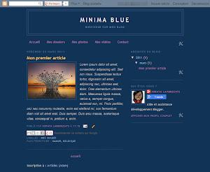 Minima Blue Theme