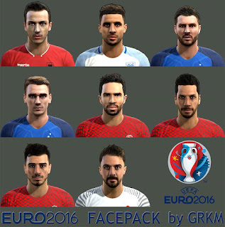 EURO 2016 Facepack Pes 2013 by Grkm