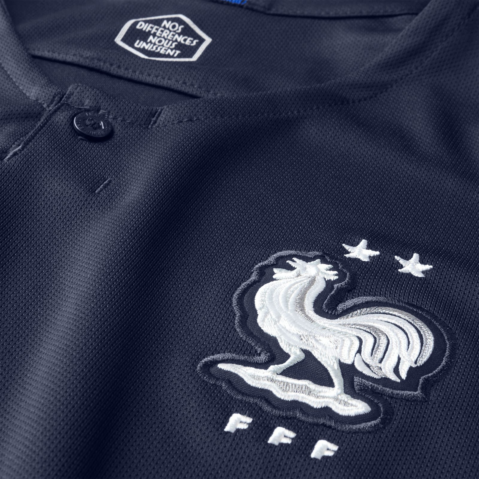 The Nike France 2 Star jersey is an updated version of the France 2018  World Cup kit featuring two stars to celebrate France s second World Cup  title. c5fc30ab4