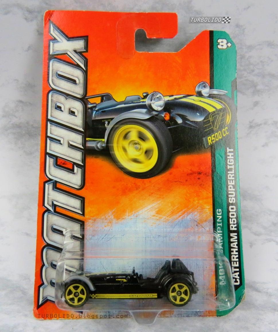 TURBOLIDO Cars: MATCHBOX CATERHAM R500 SUPERLIGHT