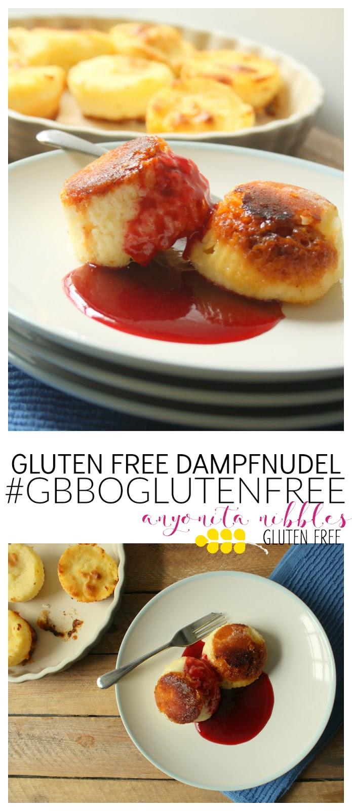 Gluten Free Dampfnudel #GBBOGlutenFree - Anyonita Nibbles