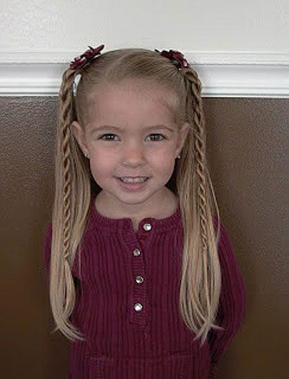 Cute%2BEasy%2BHairstyles%2BFor%2BLittle%2BGirls%2B%252826%2529 30 Cute Easy Hairstyles For Little Girls Interior