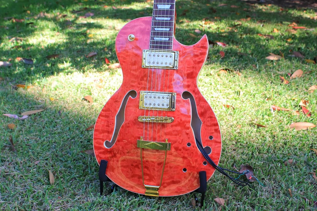 Gfs Dream 180 Wiring Diagram 1995 Mazda Protege Radio Guitar Kit Builder Les Paul Florentine Polishing Done
